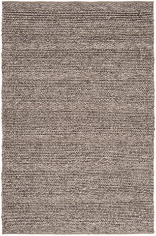 Chunky Cabin Textured Rug in Taupe - Yarn and Loom Rugs