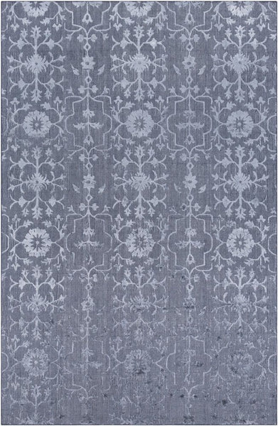 Toorak Rug in Medium Grey and Charcoal