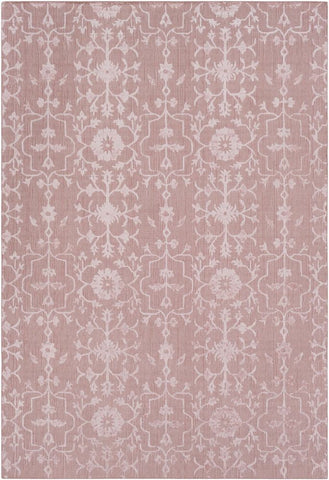 Toorak Rug in Blush and Rose