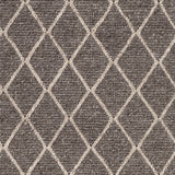 Whistler Textured Rug in Charcoal and Ivory
