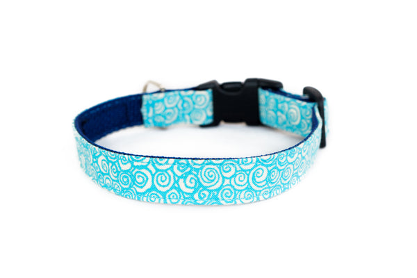Buckle Dog Collar in Sharkey