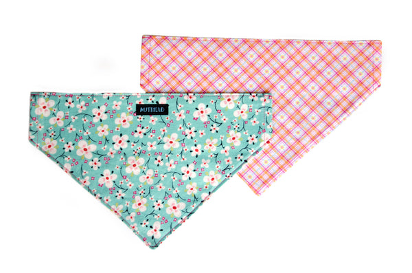 Reversible Bandana in Mabel and Lily