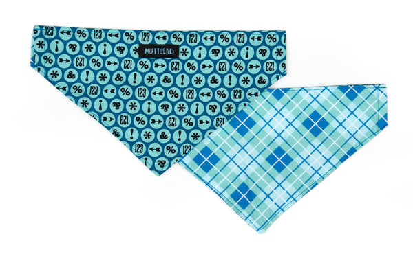 Reversible Bandana in Fletch and Quigley (blue)