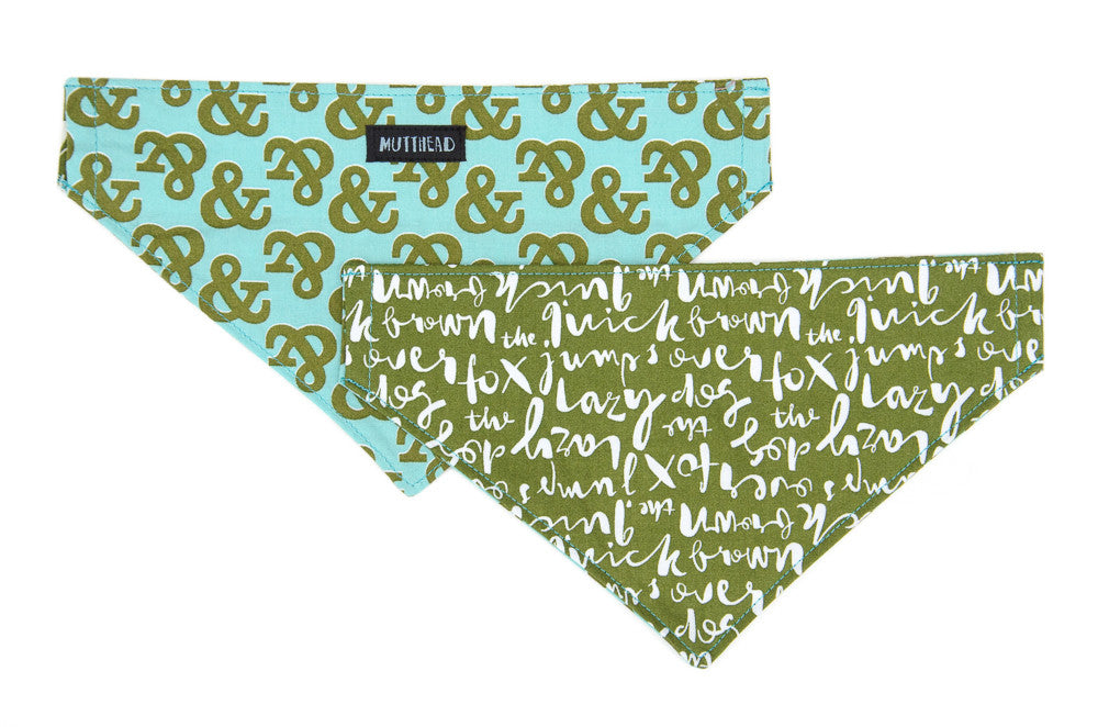 Reversible Bandana in Pinka and Flush
