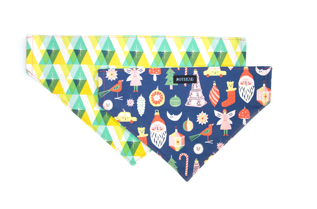 Reversible Bandana in Elizabeth Marie + Jazz