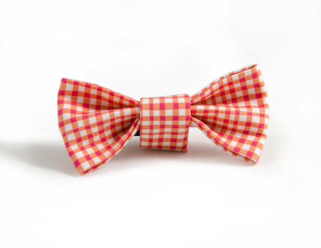 Bow Tie in Duck (orange)