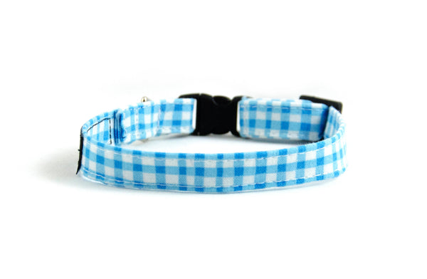 Extra Small Dog Collar in Duck (blue)