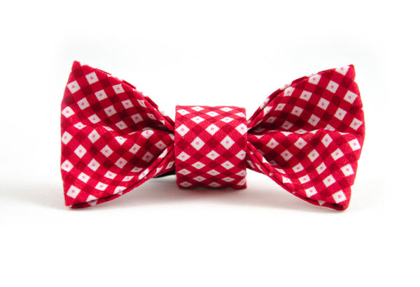 Bow Tie in Edith (red)