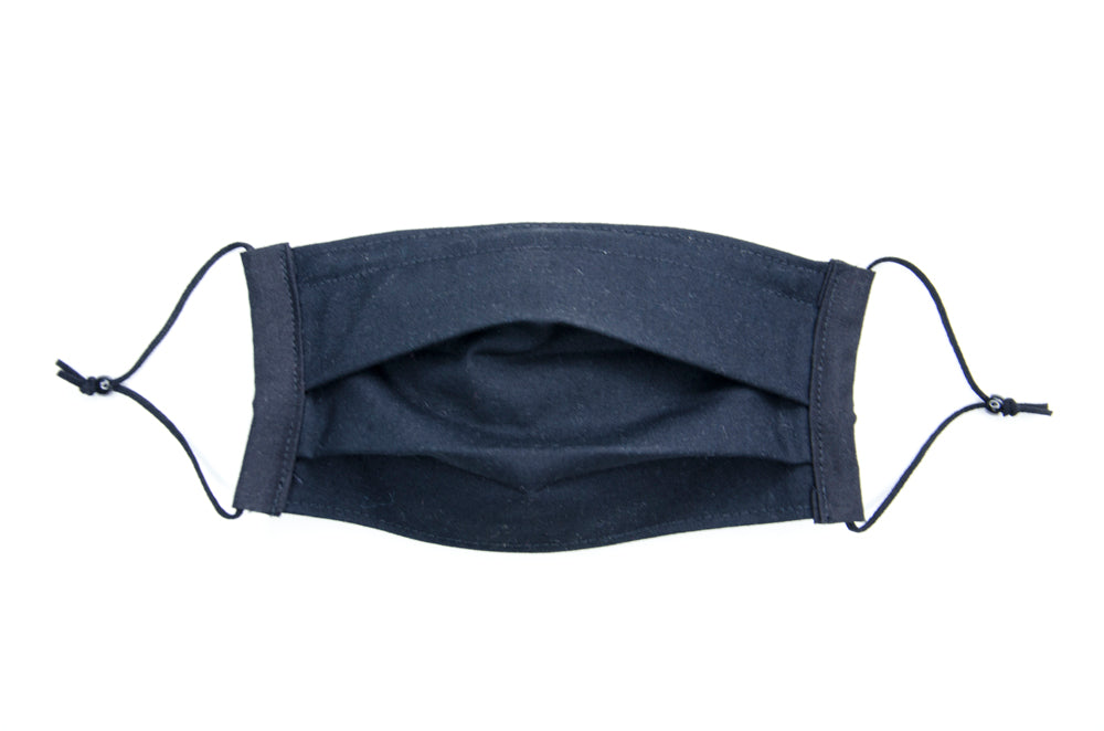 Kid-sized fabric mask in Jane (black)