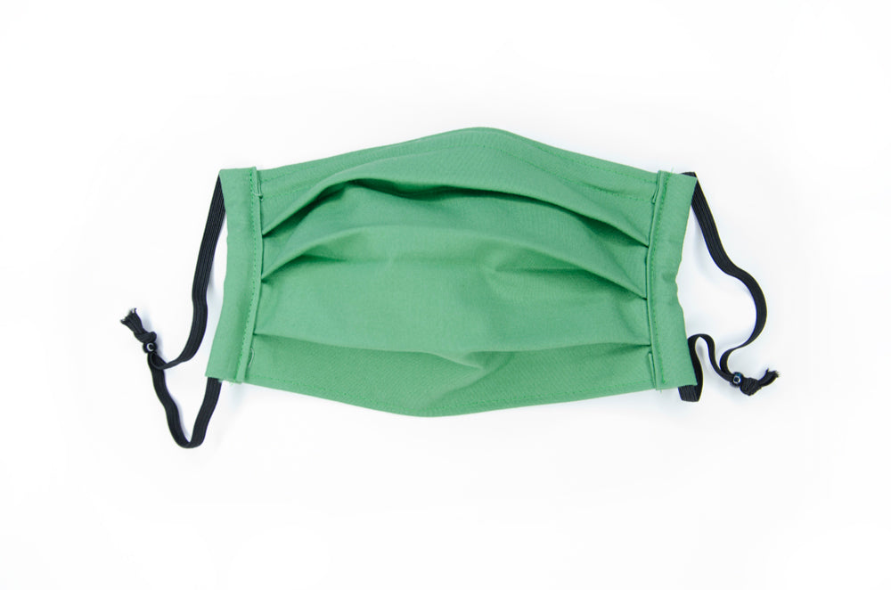 Fabric mask in Jane (green)