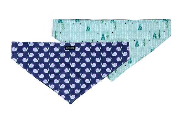 Reversible Bandana in Flash and Miner (blue)