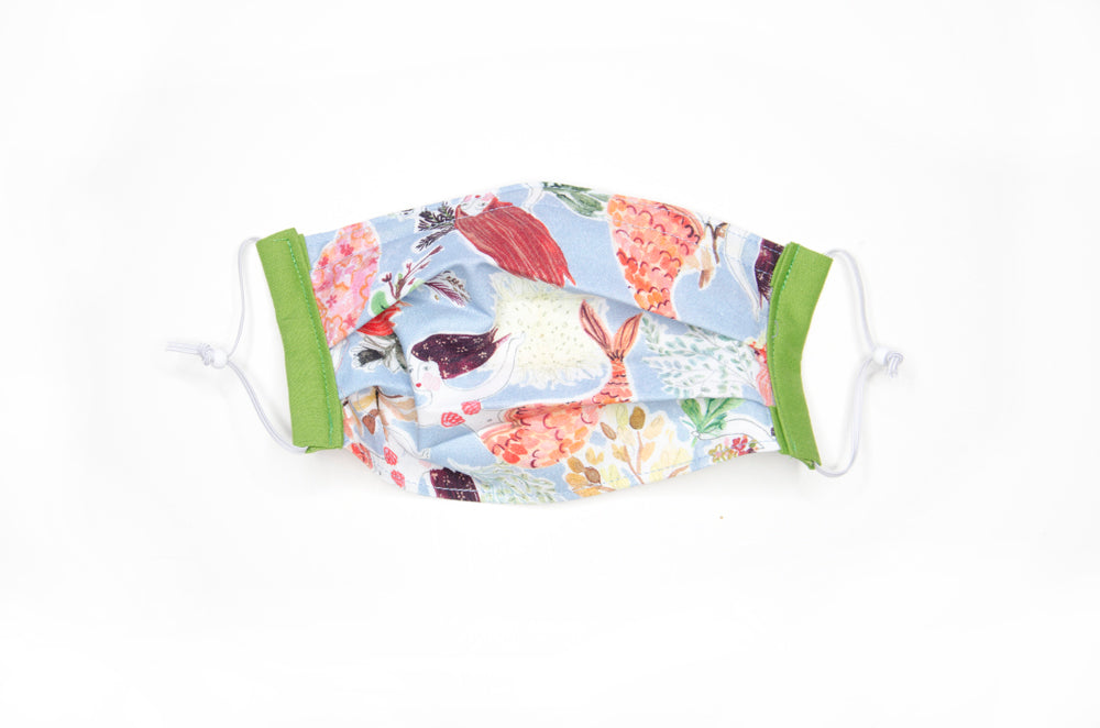 Kid-sized fabric mask in Marlowe