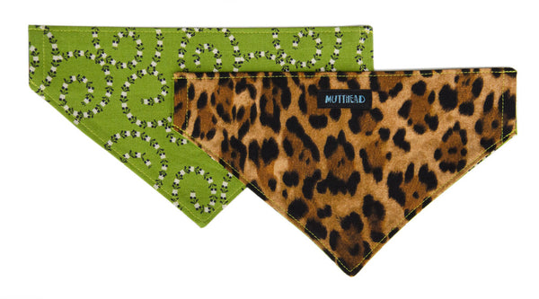 Reversible Bandana in Punky and Poocher