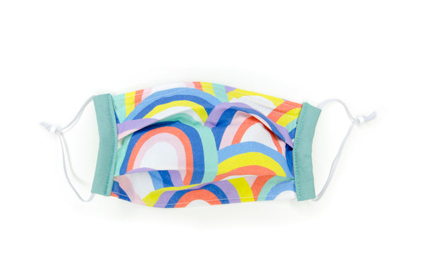 Kid-sized fabric mask in Roxie