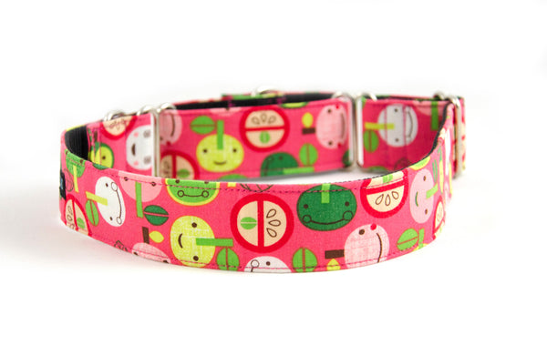 Martingale Collar in Shadow (pink)