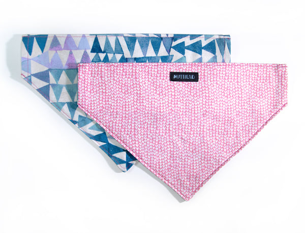 Reversible Bandana in Valentino and Chia