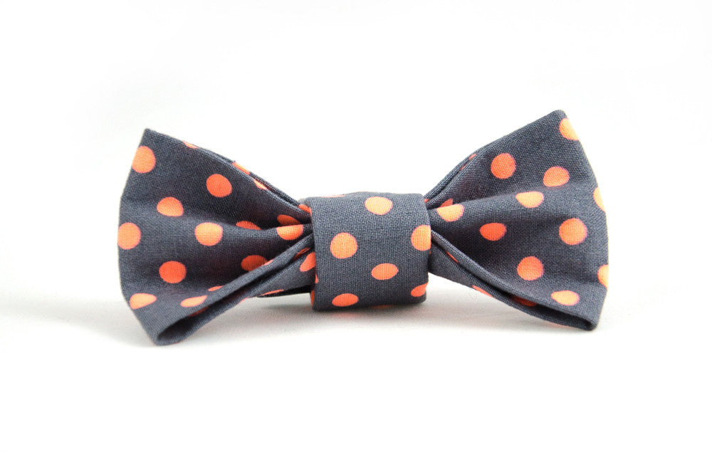 Bow Tie in Zoe (orange)