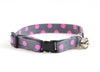 Cat collar in Zoe (pink)