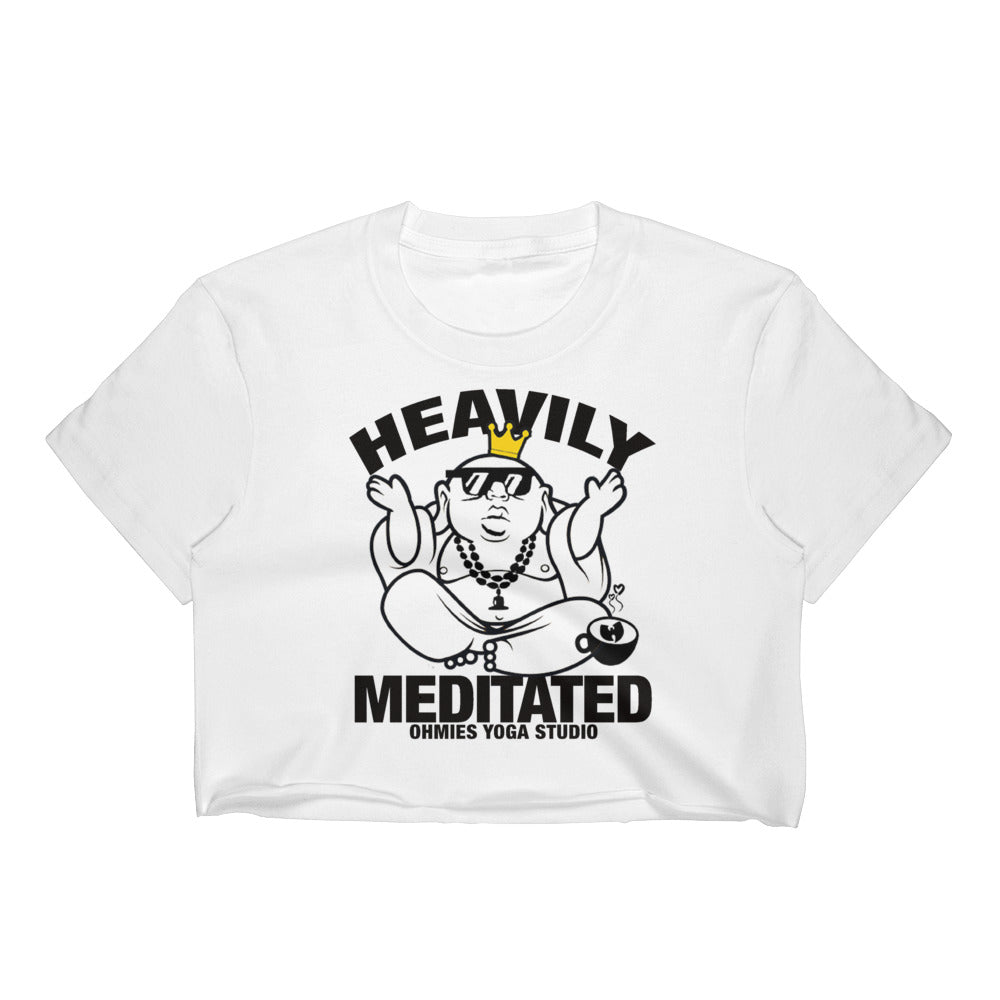 Heavily Meditated - Women's Crop Top