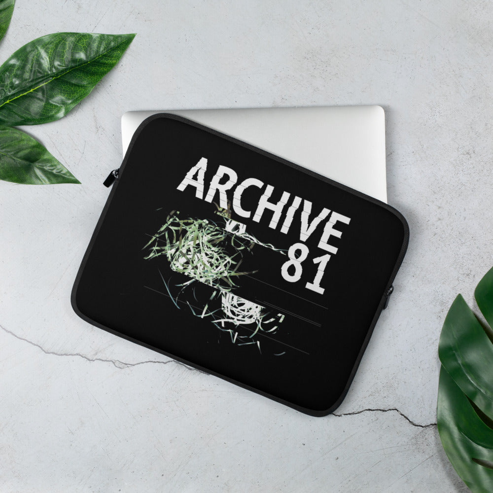 Laptop Sleeve - Archive 81 Logo