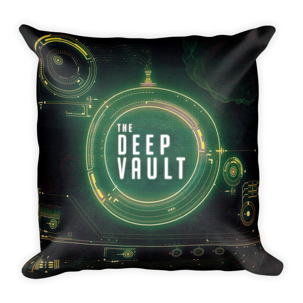 Pillow - The Deep Vault Logo