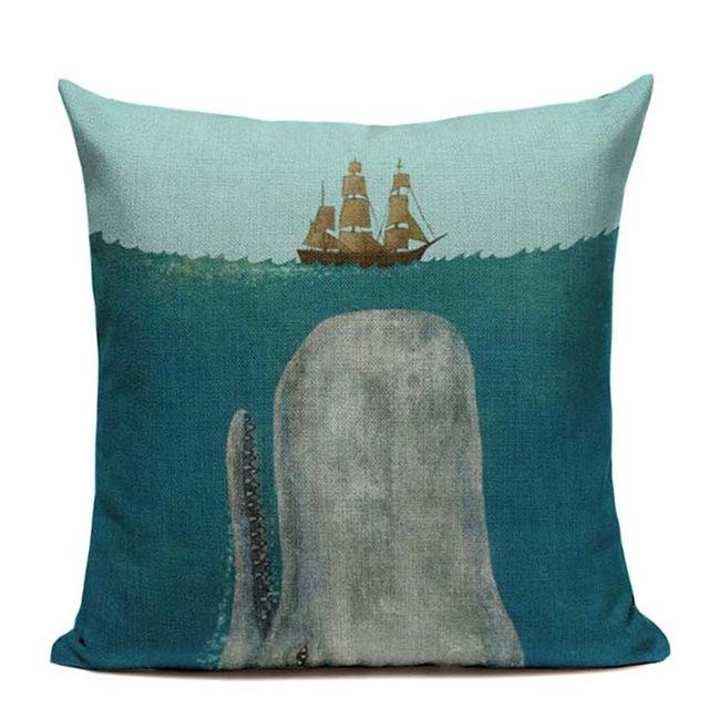 Beach Rustic Throw Pillow Covers With an Attitude