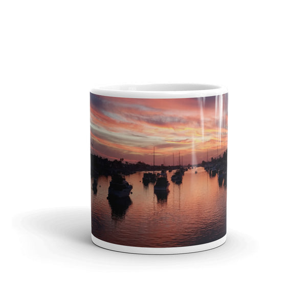 Balboa Island Coffee Mug #7 by Beach Rustic - Beach Rustic Artisan Country Decor
