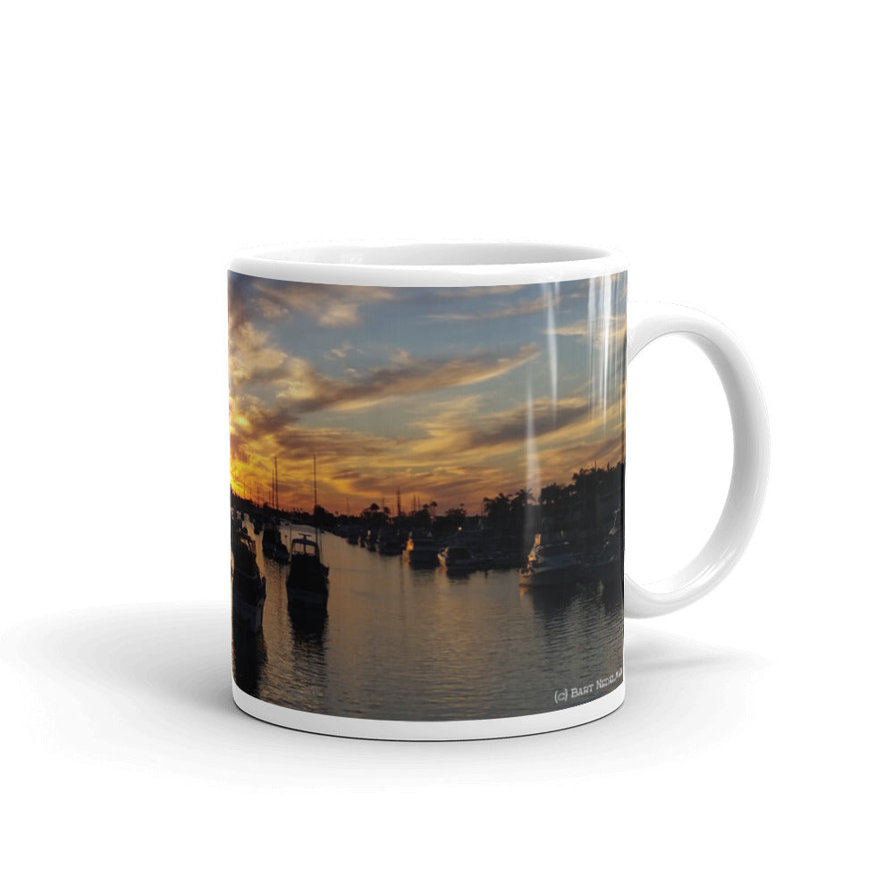 Balboa Island Coffee Mug #5 by Beach Rustic - Beach Rustic Artisan Country Decor