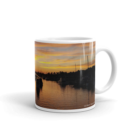Balboa Island Coffee Mug #3 by Beach Rustic - Beach Rustic Artisan Country Decor