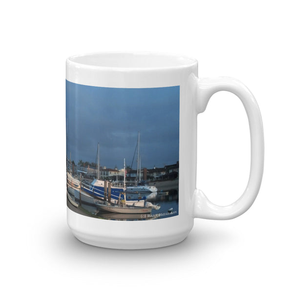 Balboa Island Coffee Mug #4 by Beach Rustic - Beach Rustic Artisan Country Decor