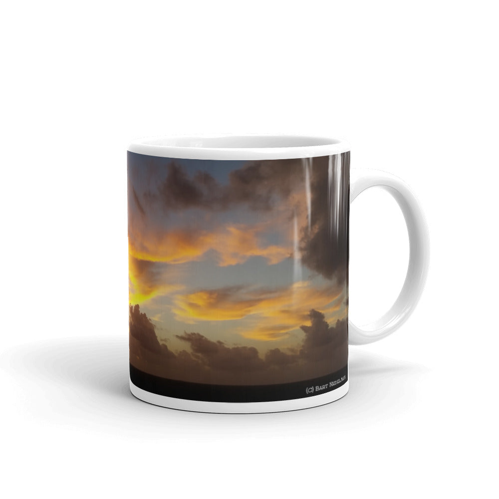 Newport Beach Coffee Mug #7 by Beach Rustic - Beach Rustic