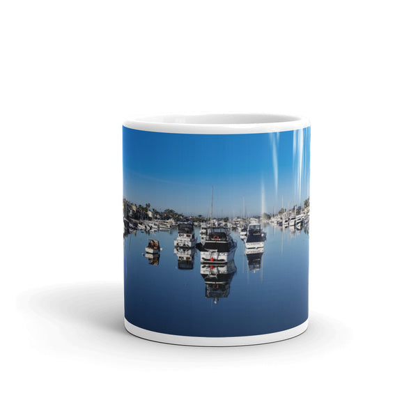 Balboa Island Coffee Mug #6 by Beach Rustic - Beach Rustic Artisan Country Decor