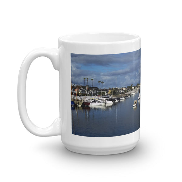 Balboa Island Coffee Mug #1 by Beach Rustic - Beach Rustic Artisan Country Decor