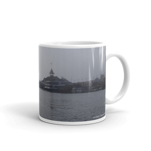 Balboa Island Coffee Mug #2 by Beach Rustic - Beach Rustic Artisan Country Decor