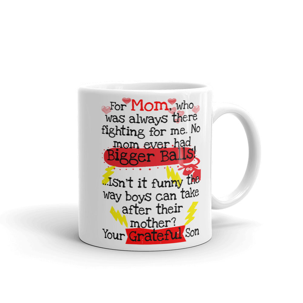 Funny Mother's Day Coffee Mug | Mothers Day Gifts, Gifts for Mom, Gifts for Grandmom, Mothers Day Gift From Son - Beach Rustic Artisan Country Decor