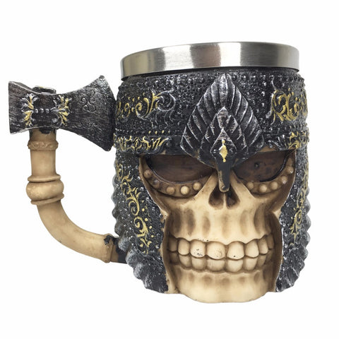 LIMITED EDITION Viking Skull Beer/Coffee Mug V.2