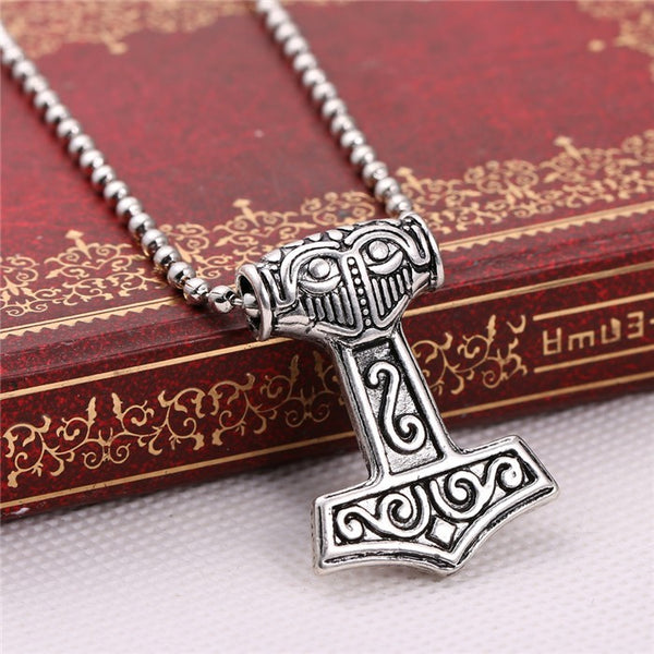 Thor's Hammer Norse Necklace for VIKINGS