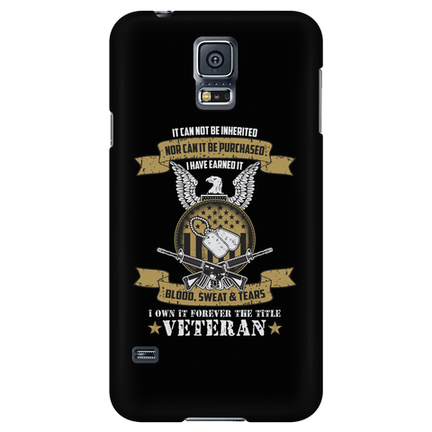 U.S Veteran Custom Phone Cases