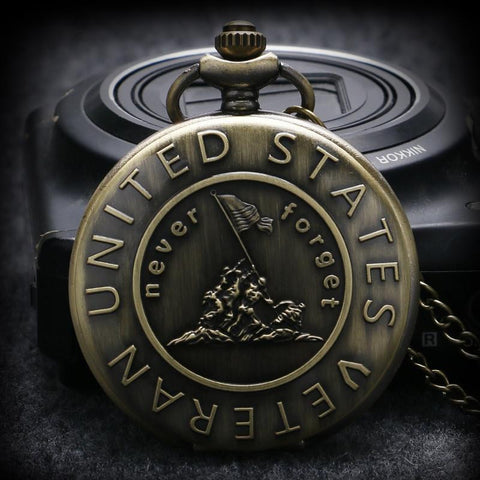U.S Veteran Pocket Watch