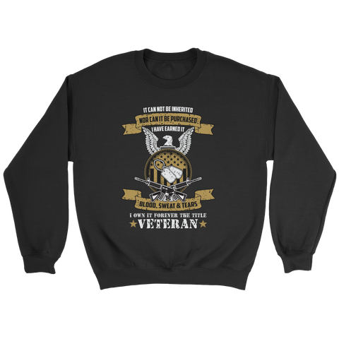 U.S Veteran Custom Sweatshirt
