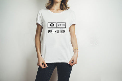#WorkFlow Women's Marketing T-Shirt