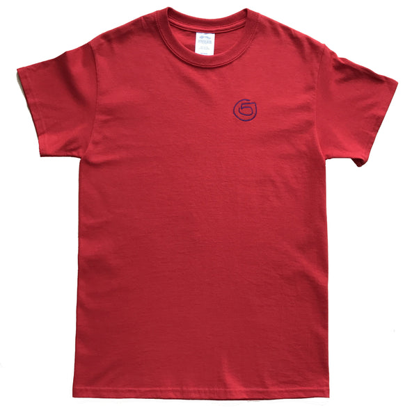 Five AM Red Logo Tee