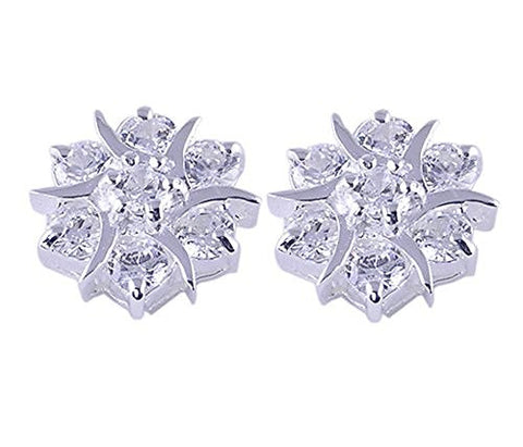 Cubic Zirconia .925 Sterling Silver Earrings
