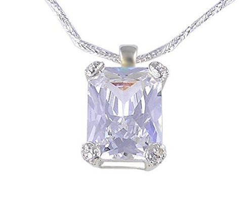CZ (Cubic Zirconia) .925 Sterling Silver Pendant