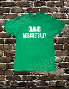 Cranjis McBasketball? Men's T-shirt Impractical Jokers Fan Made Shirt