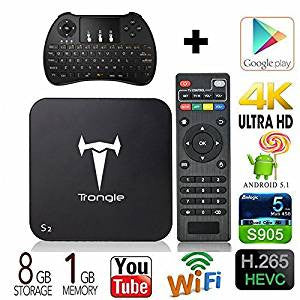 Trongle S2 MXQ Pro TV BOX Optional Keyboard - The Tv Box Professionals
