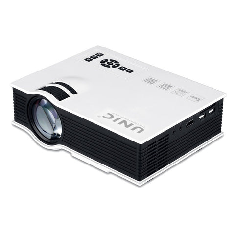 UNIC UC40 Projector Pico LED Home Cinema - The Tv Box Professionals