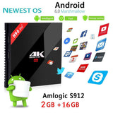 H96 Pro Plus Android TV Box Amlogic S912 - The Tv Box Professionals