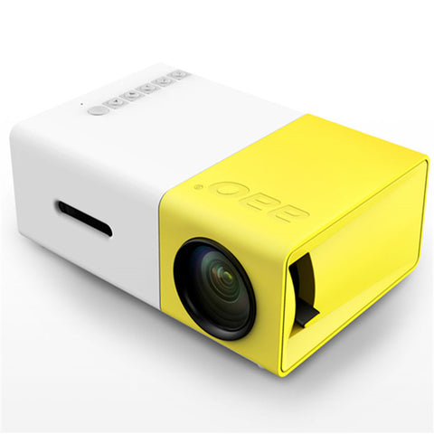 YG300 LED Portable Projector Home Media Player - The Tv Box Professionals