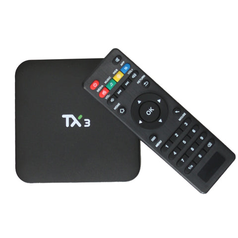 3pcs - TX3 Android TV Box - The Tv Box Professionals